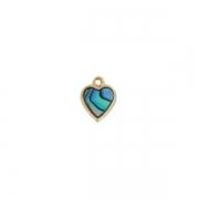 Heart Charm - Ariki New Zealand Jewellery