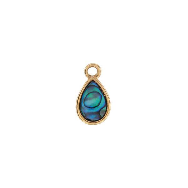 Teardrop Charm - Ariki New Zealand Jewellery