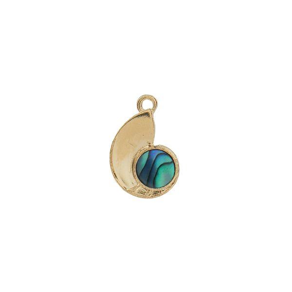 Nautilus Charm - Ariki New Zealand Jewellery