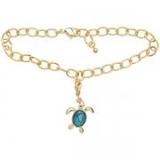 Turtle Charm Bracelet - Ariki New Zealand Jewellery