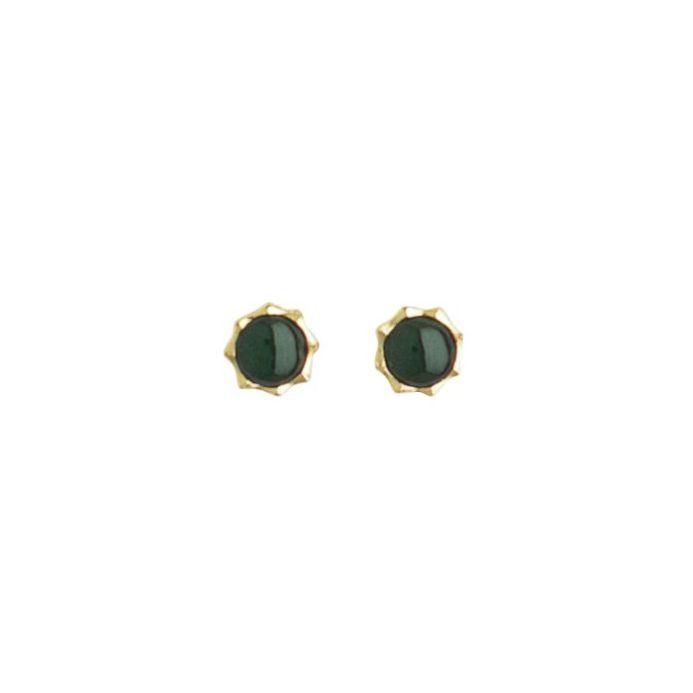 Nephrite Jade Star Stud Earrings - New Zealand Jewellery