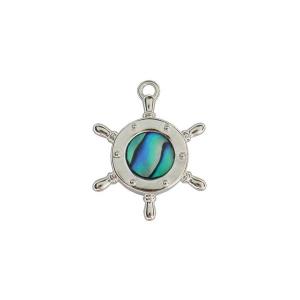 Ships Wheel Charm - Ariki New Zealand Jewellery