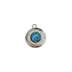 Anchor Porthole Charm - Ariki New Zealand Jewellery