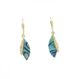 Paua Wings Earrings