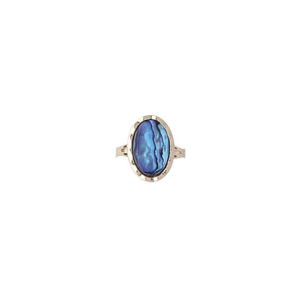 Scalloped Oval Ring - Ariki New Zealand Jewellery